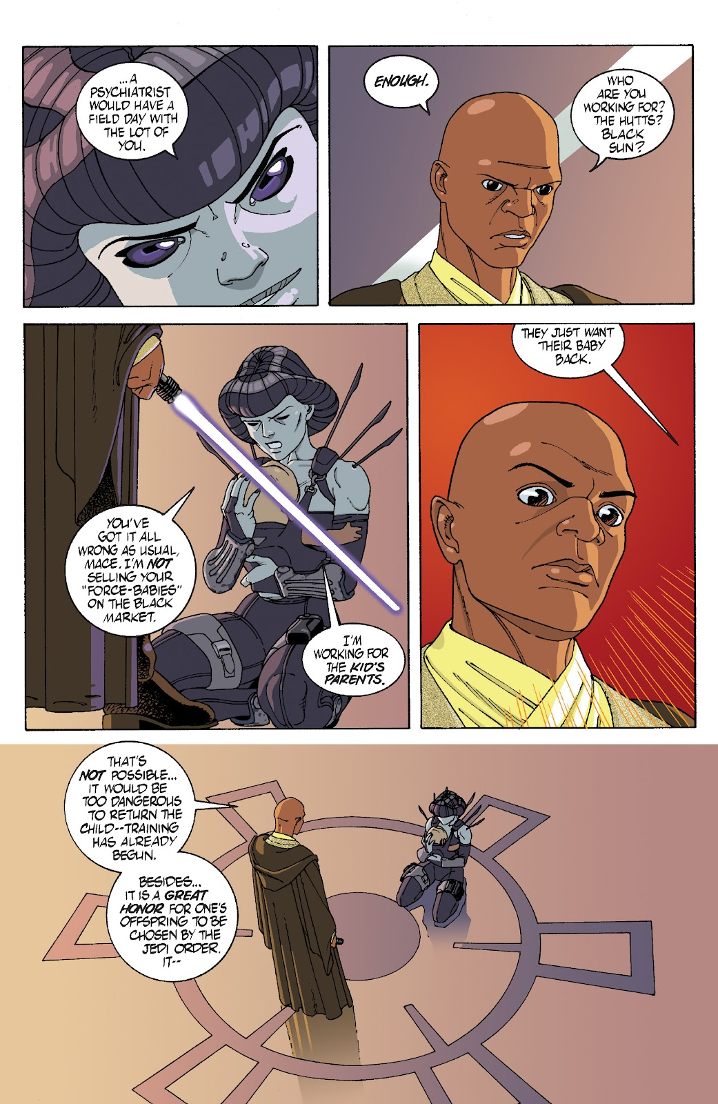 Read online Star Wars Legends: Rise of the Sith - Epic Collection comic -  Issue # TPB 1 (Part 1) - 33