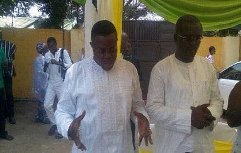 Montie 3 Attend Thanksgiving Service (PHOTOS)