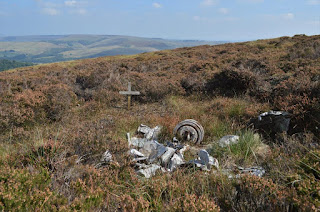 Shining Tor Air Crash Site Airspeed Oxford Mk.I LX745