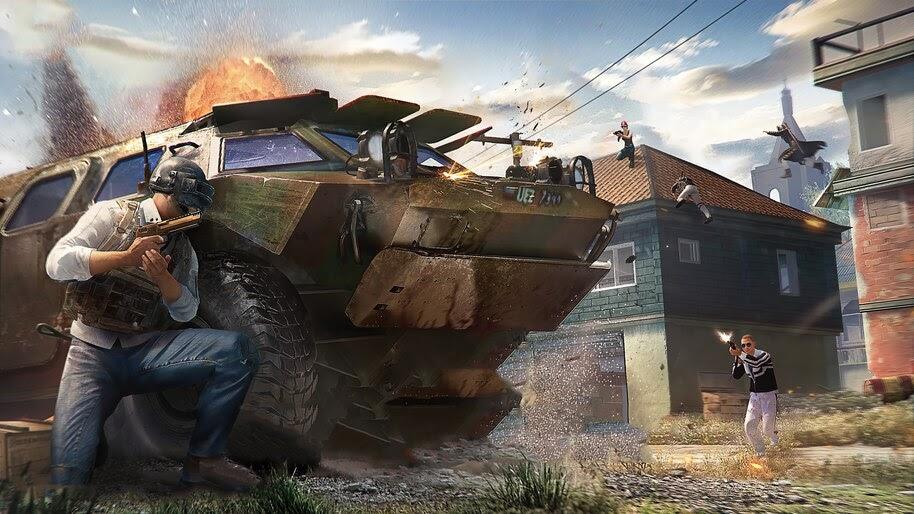 PUBG, BRDM 2, Armored, Vehicle, 4K, #5.2330