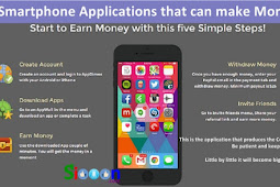 5 Smartphone Applications Android / iOs that can make Money