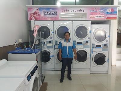 Mesin Laundry Koin di Jakarta