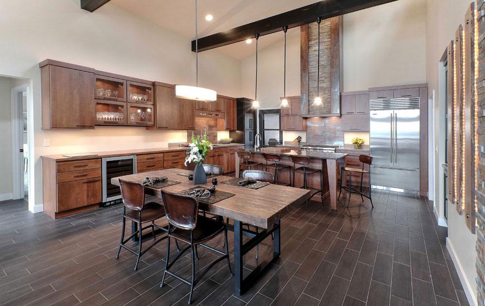 ideen design eine sch ne rustikale k che k che f r eine angenehme kochen erfahrung de haus. Black Bedroom Furniture Sets. Home Design Ideas