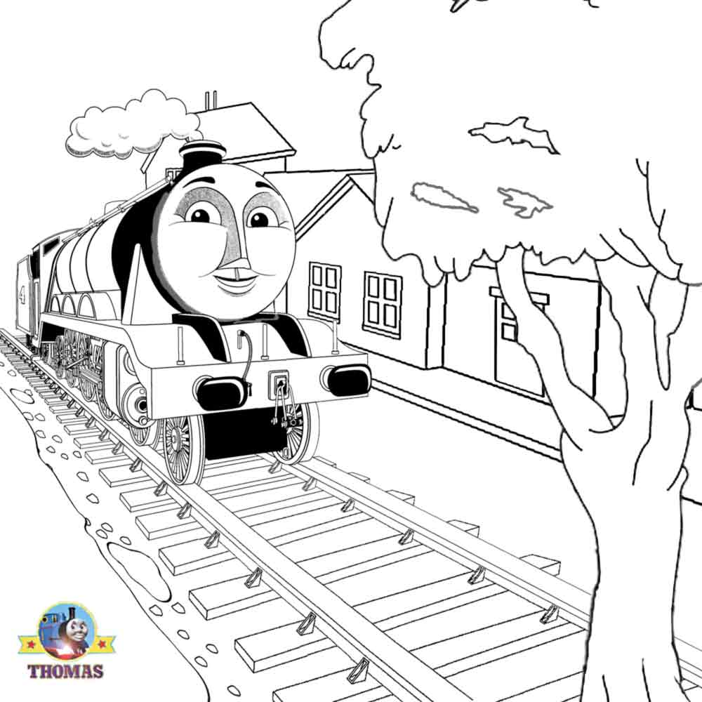 Thomas And Friends Coloring Pages Hiro Coloring Pages
