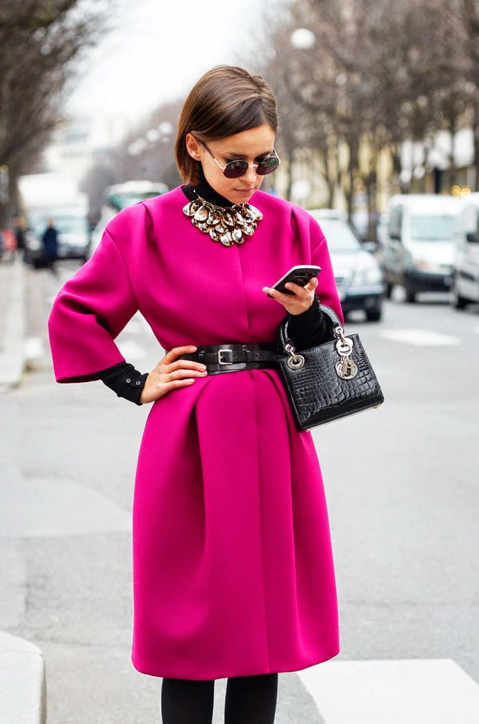 mira-duma-pink-coat-black-belt-outfit