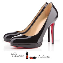 CHRISTIAN LOUBOUTIN Pumps and NATAN Dress - Queen Maxima Style