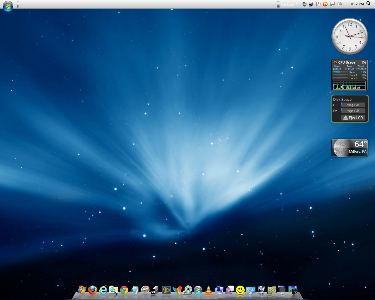 Everything Windows 10: MAC OSX Snow Leopard Theme for Windows 8