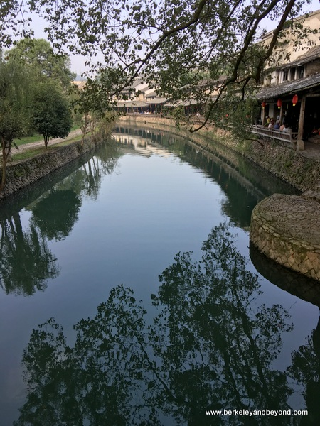 Lishui Ancient Street in Zhejiang Province, Wenzhou, China