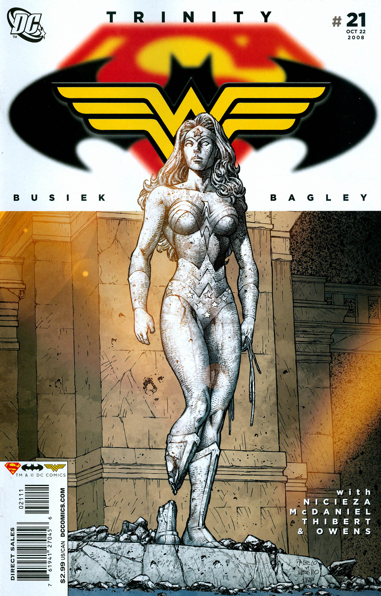 Read online Trinity (2008) comic -  Issue #21 - 1