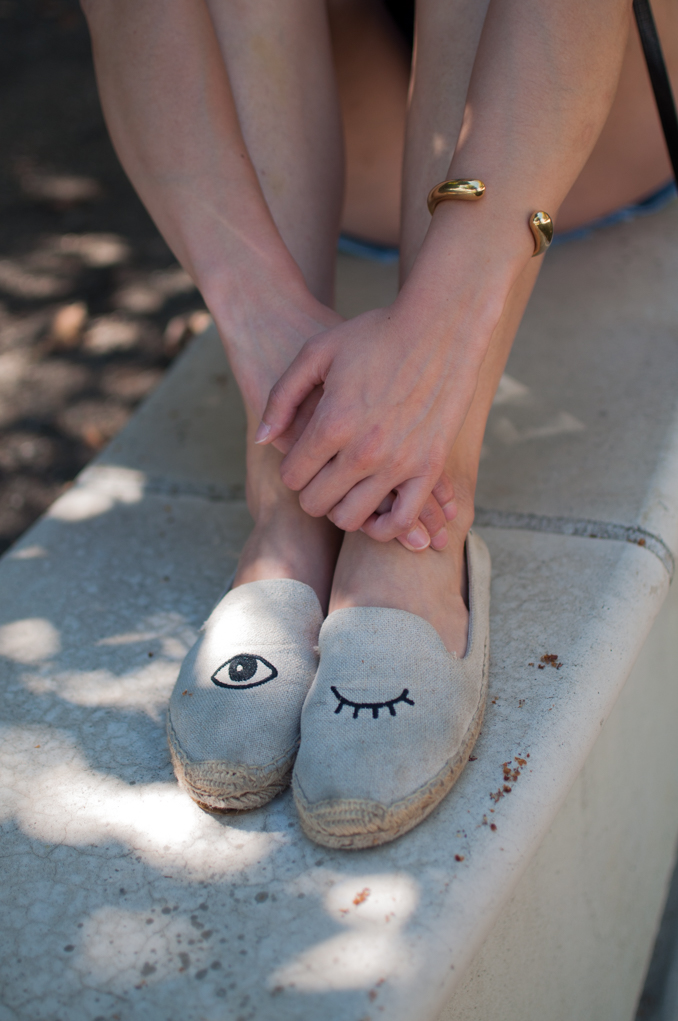 comfortable cute espadrille flats
