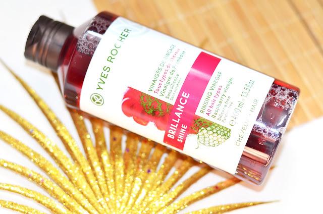 Малиновый Уксус для Сияния  Yves Rocher Rinsing Vinegar