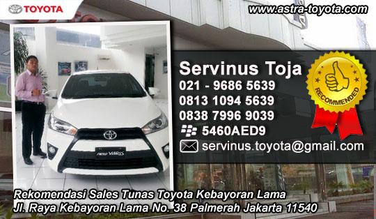 Rekomendasi Sales Tunas Toyota Kebayoran Lama