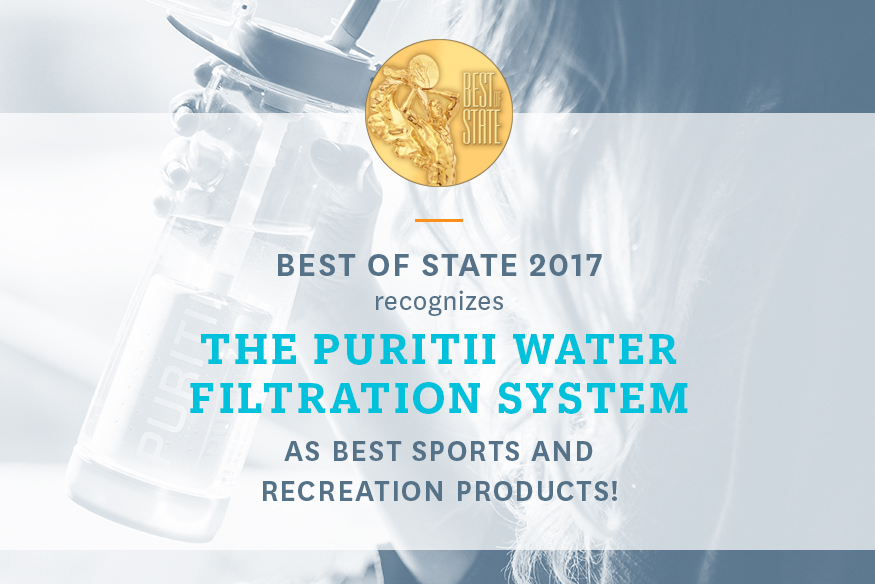 ARIIX RECOGNIZED FOR THE PURITII WATER FILTRATION SYSTEM AS BEST SPORTS AND RECREATION PRODUCT