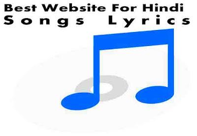 Best Website For Hindi Songs Lyrics