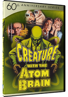 DVD Review: 60th Anniversary Series: Creature With The Atom Brain