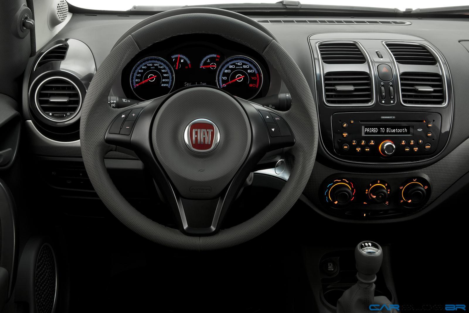 Fiat Grand Siena Attractive 2013 Custa A Partir De R  36
