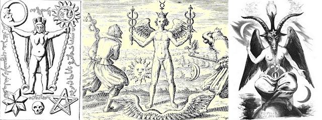 Baphomet, Mercúrio filosofal, templários, maçonaria