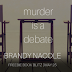 Freebie Book Blitz -  Murder is a Debate by Brandy Nacole