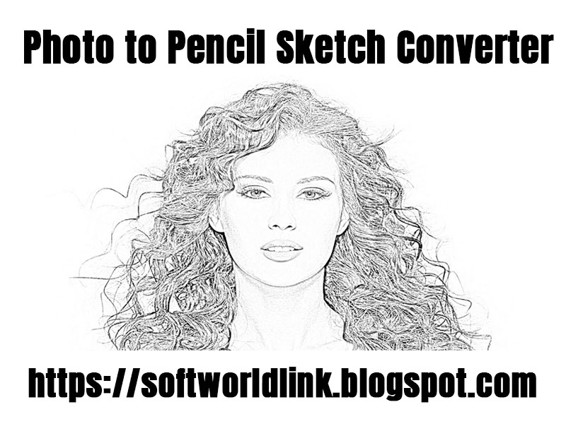 photo to pencil sketch converter - ofline converter - photo sketch - full version