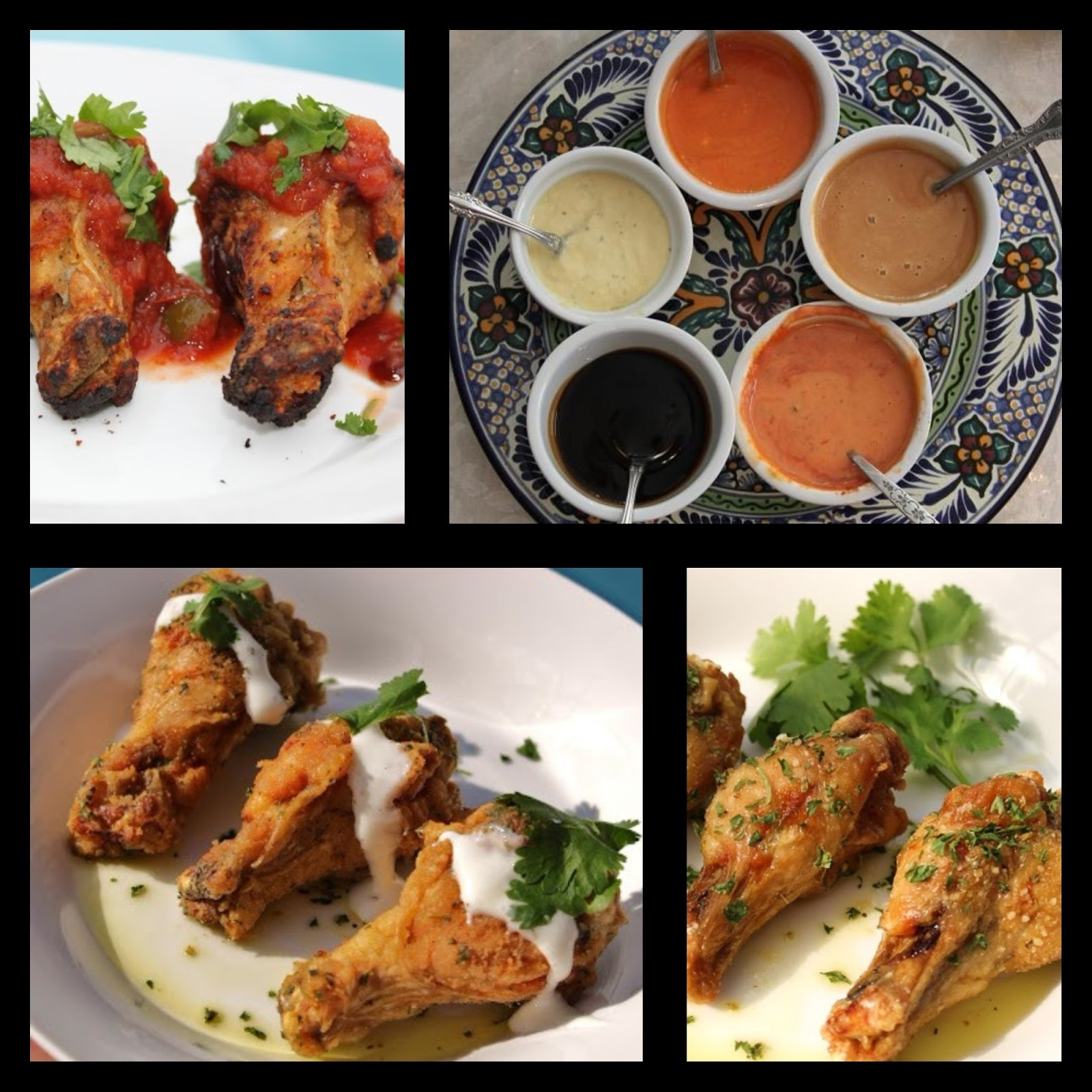 Chicken Wing Dipping Sauces 18 kinds and wing recipes
