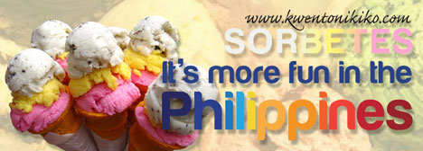 Sorbetes - It's more fun in the Philippines
