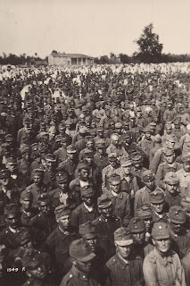 Austro-Hungarian troops captured at the Battle of Vittorio Veneto