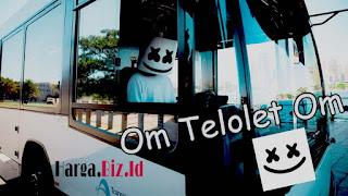 Maskot Om Telolet Om Versi Asli DJ Marshmello