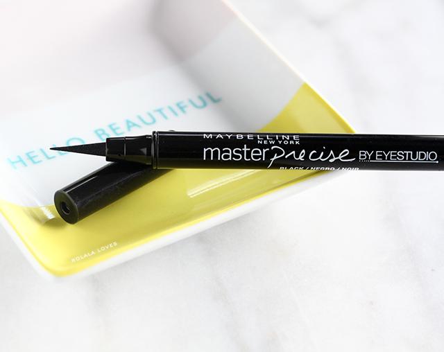 Maybelline Master Precise Ink Pen Eyeliner Review, Maybelline Eyeliner, Maybelline Rview
