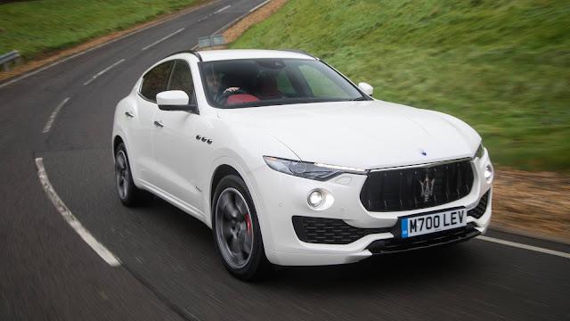 Maserati Levante S White Image