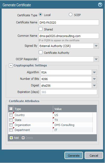 SSL Decryption with Palo Alto NGFW