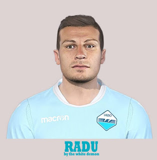 PES 2019 Faces Ştefan Radu by Jarray & The White Demon