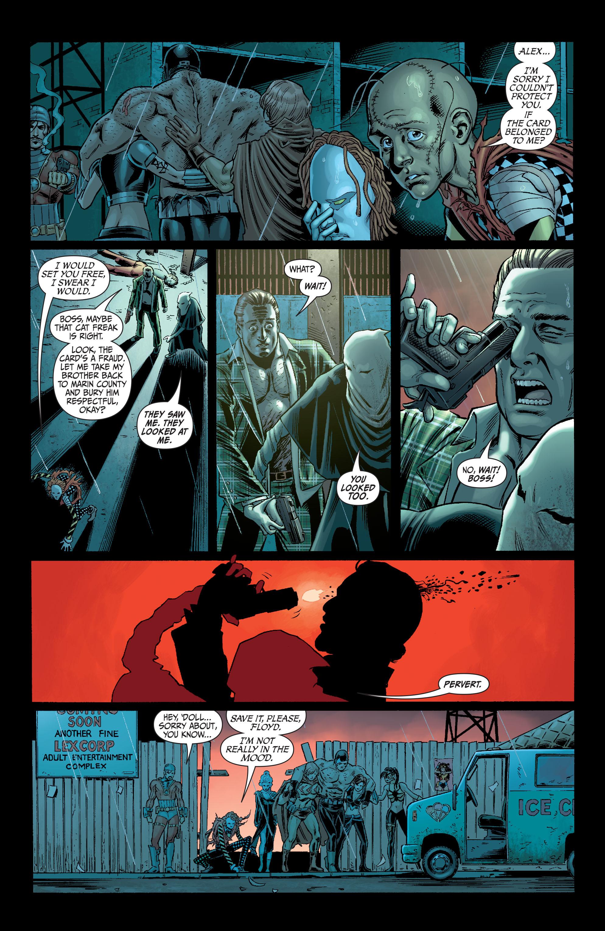 Read online Secret Six (2008) comic -  Issue #6 - 8