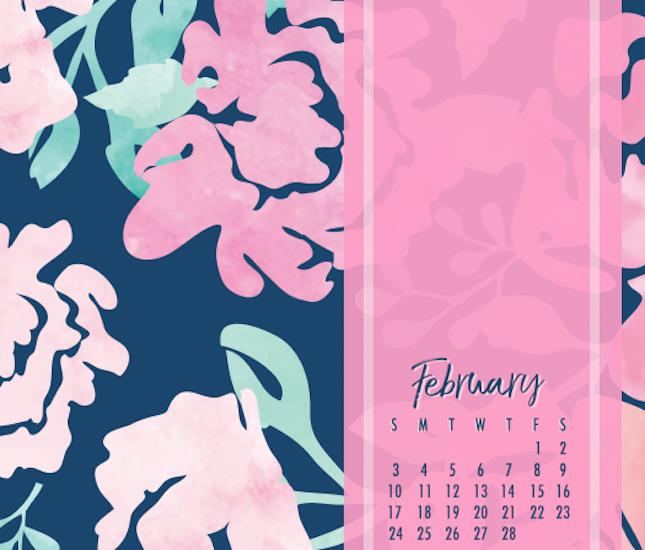 february free calendar