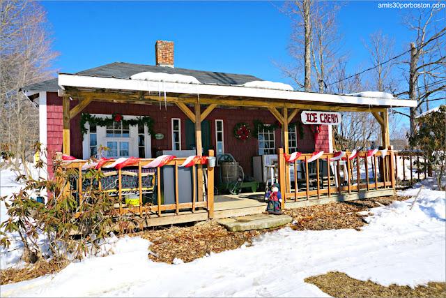 Heladería de la Granja Heritage Farm Pancake House, New Hampshire