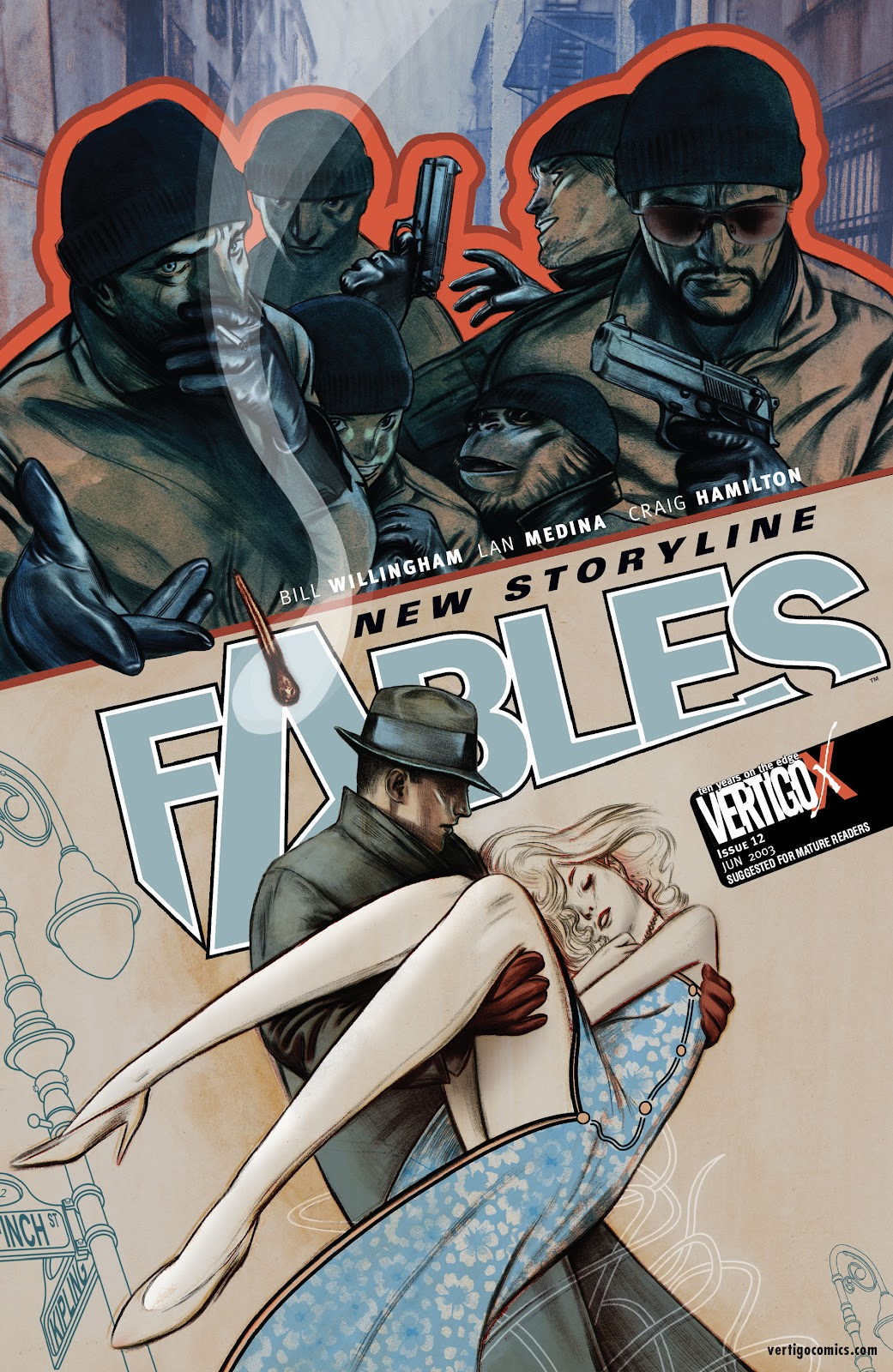 Fables issue 12 - Page 1