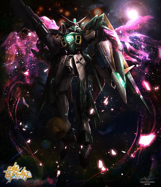 Gundam Fenice Rinascita by Xeikth