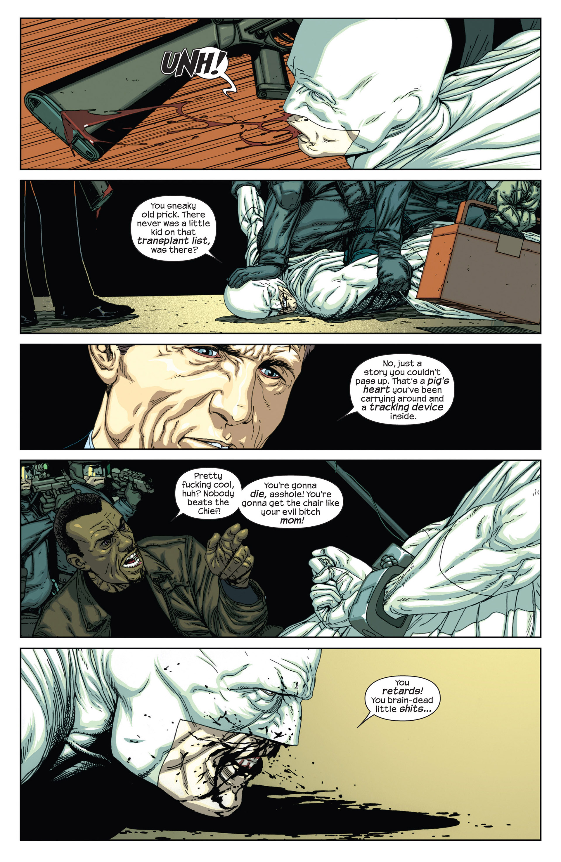 Read online Millar & McNiven's Nemesis comic -  Issue #2 - 26