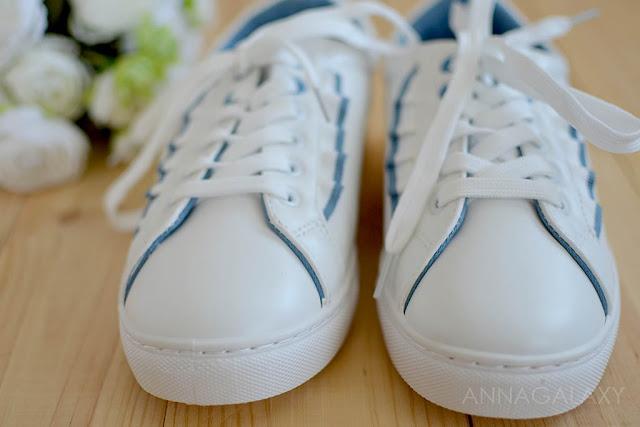 Белые шнурки Faberlic кеды женские Felici Феличи
