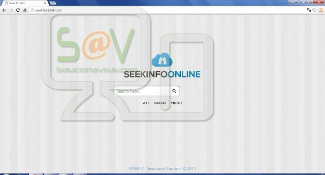 SeekInstant.com (Hijacker)
