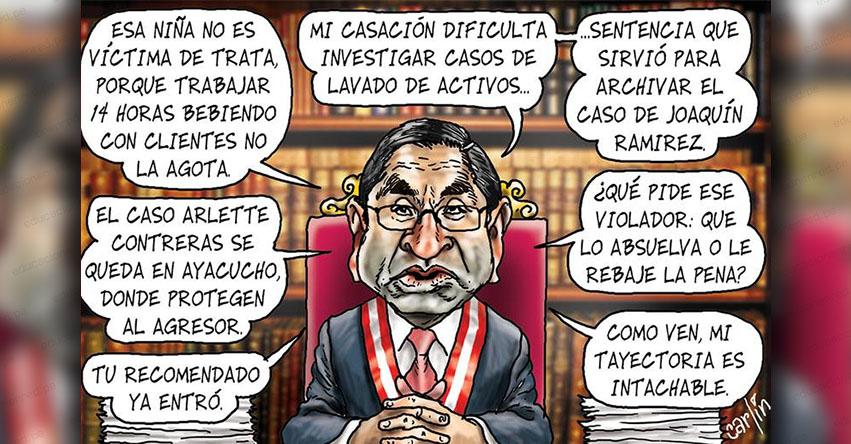 Carlincaturas Miércoles 11 Julio 2018 - La República