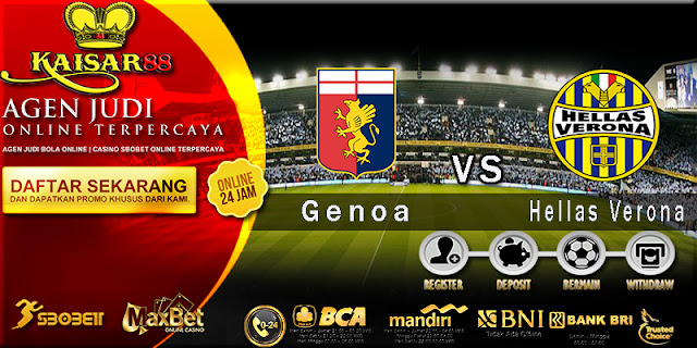 Prediksi Bola Jitu Genoa vs Hellas Verona 24 April 2018
