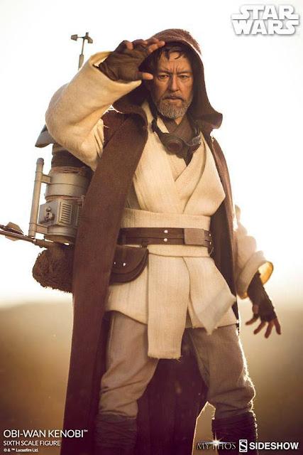 "osw.zone Sideshow Collectibles 1 / 6. Scale Obi-Wan Kenobi Mythos 12 ""Collector Sneak Peek"