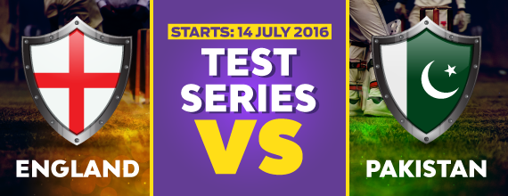 England and Pakistan go head to head in the second Test at Old Trafford on 22 July.