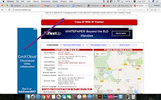 موقع IP Tracker