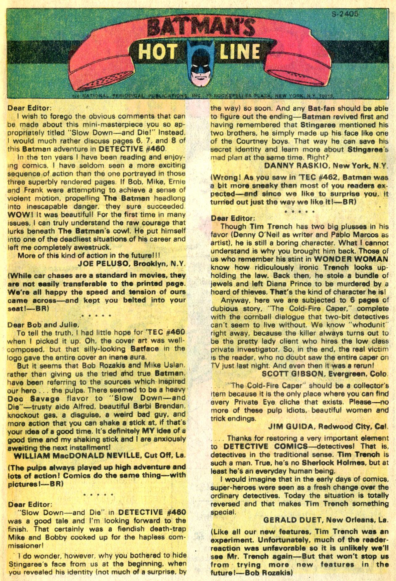 Detective Comics (1937) 464 Page 32