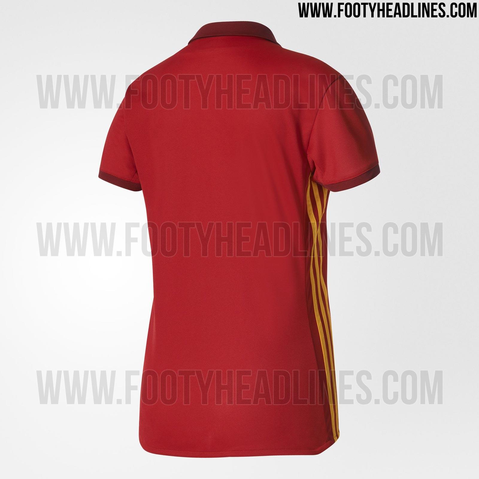 Camiseta España Eurocopa femenina