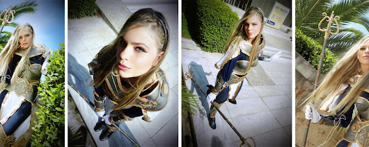 cosplay de lux de league of legends