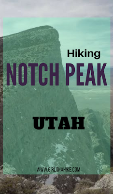 Hiking Notch Peak, Delta, Utah