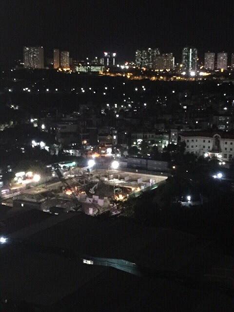 Tiến độ chung cư Eco drem về đêm