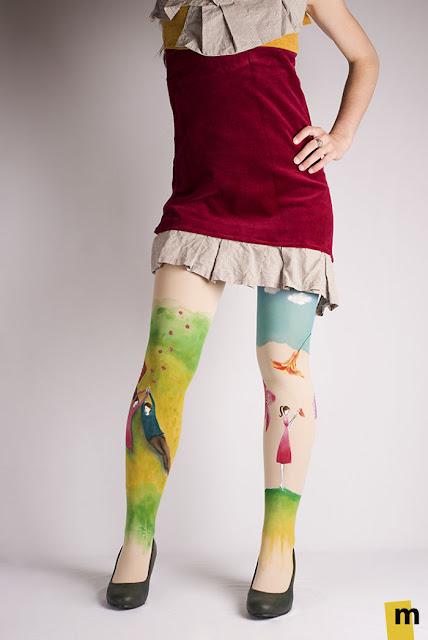 lukisan kaki paling keren kreatif unik dan juga sangat indah-10